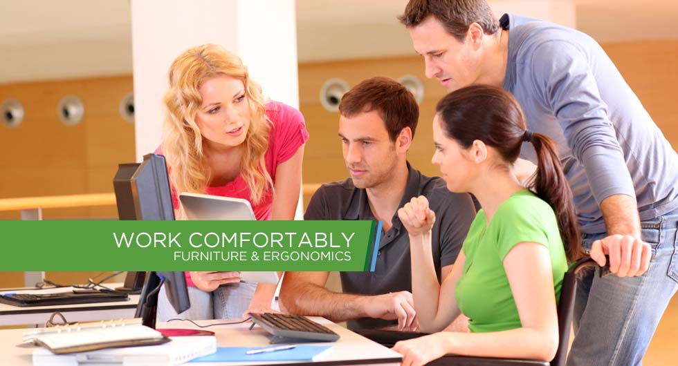 Work Comfortably - Furniture & Ergonomics